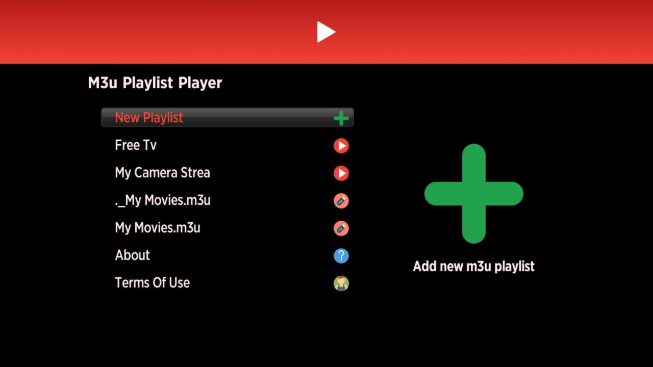 Installera Playlist Player på Roku